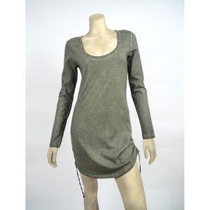 NEW PAM & GELA DRESS DRAWSTRING MINI SZ S